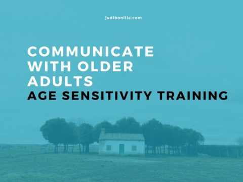 Judi Bonilla - Sensitivity Training