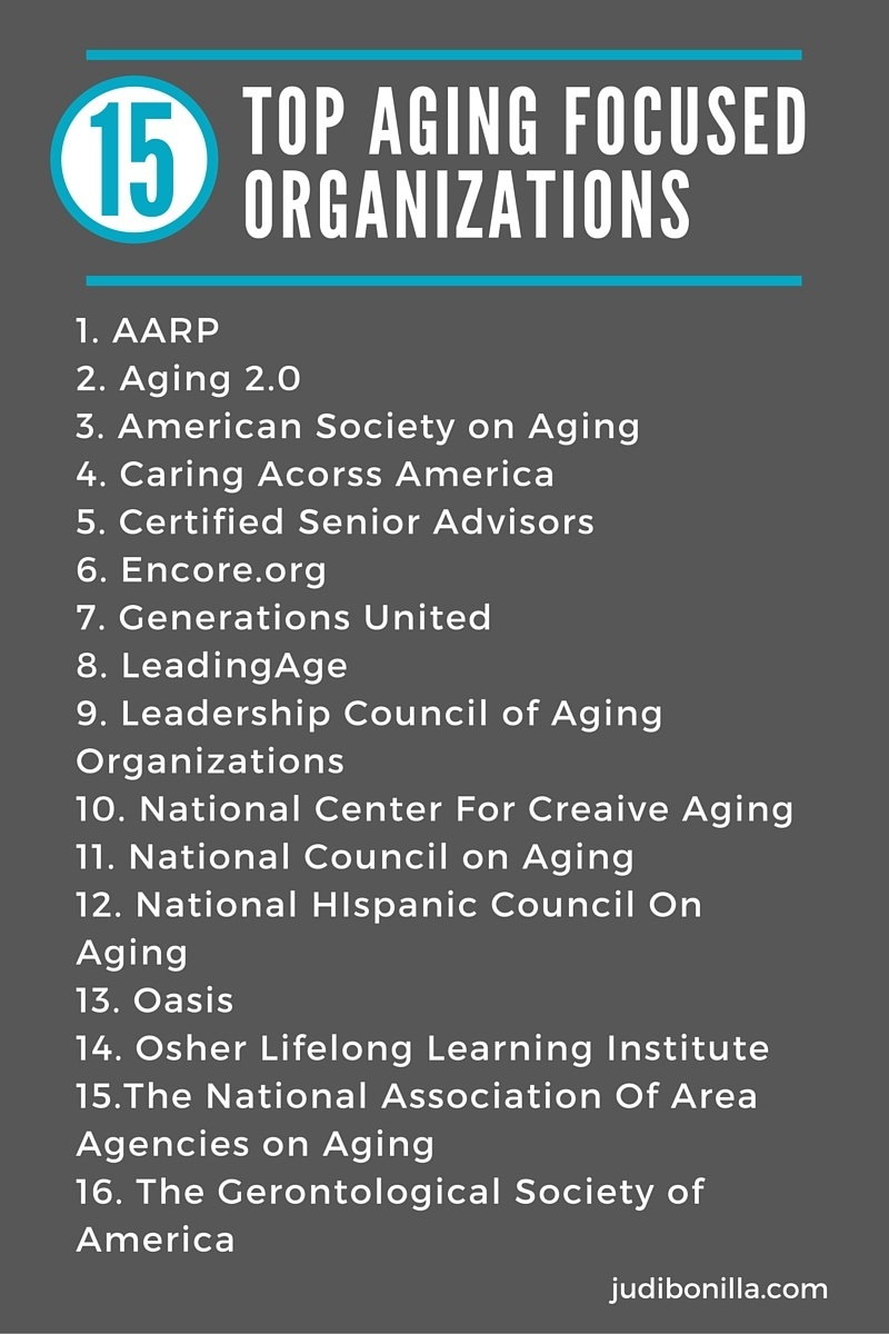 Resources For Professionals In Aging