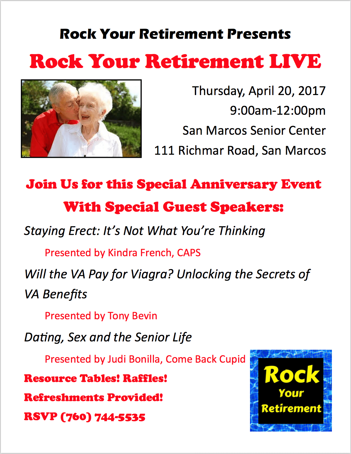 Rock Your Retirement Event