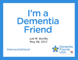 Dementia Friends - Living With Alzheimer's disease