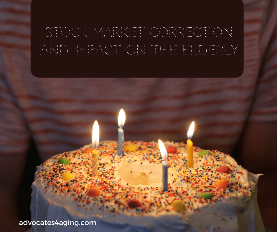Stock Market Correction and Impact on the Elderly