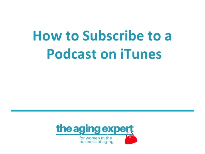 The Aging Expert Podcast